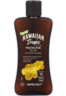 HAWAIIAN TROPIC óleo OIL - 100ml FPS 15
